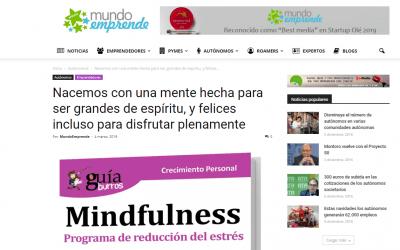«GuíaBurros: Mindfulness» de Lola López, en el portal Mundo Emprende